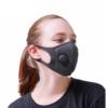 ماسك الوجه بالفلتر مزدوج التنقية وصمام التنفس