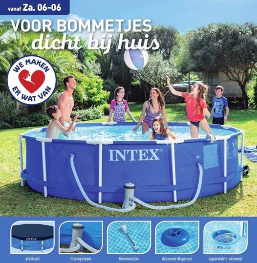 Intex familiezwembad