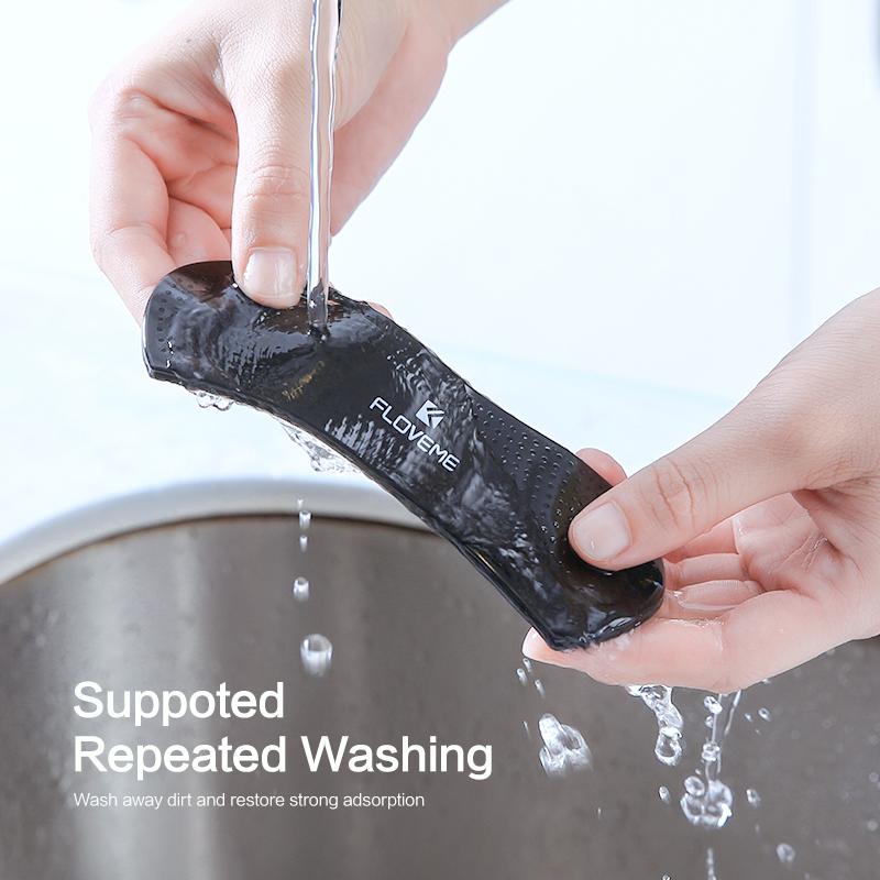 يدعم الغسيل المتكرر، فيمكنك تنظيفة من الأتربة واستعادة الالتصاق القوي