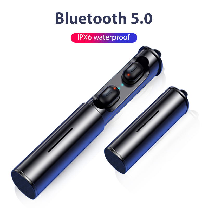 سماعات ايربودز بلوتوث 5.0 رياضية مقاومة للمياه (1)